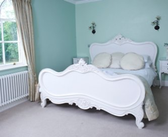 Beautiful bedrooms overlooking our grounds