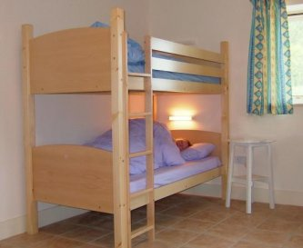 Lovely bunk beds, custom made for us