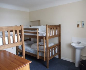 Arete Centre room, we have 13 bedrooms
