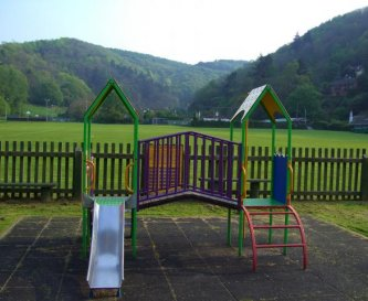 Places to play for young and old.