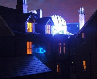 Bishopswood House at Night