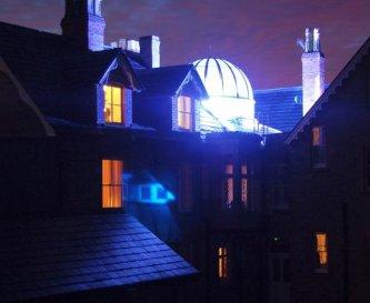 Bishopswood House at Night
