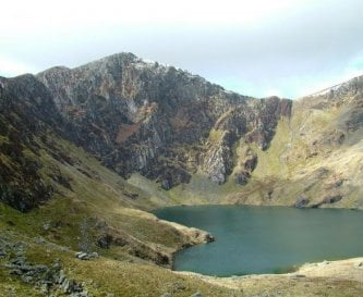 Cadair Idris, on our doorstap.