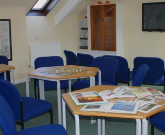 Common Room/Classroom with TV, DVD,Whiteboards etc