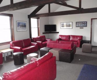The comfortable lounge