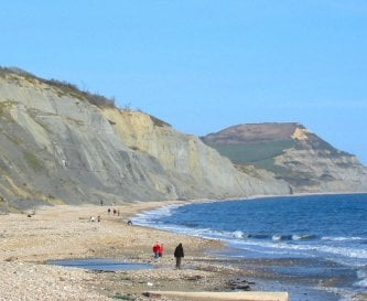 Charmouth Beach and Golden Cap