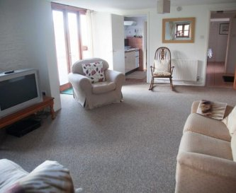 Sitting room  Stables 1 + kitchen and dining room