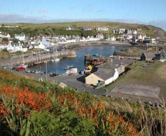 Picture perfect conservation village ,Portpatrick