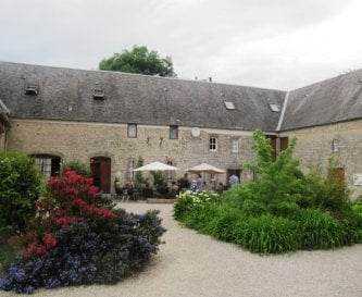 The Gite Courtyard with BBQ Terrace