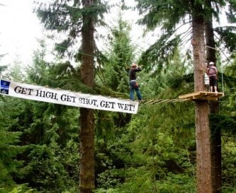 Have Fun on the High Ropes!