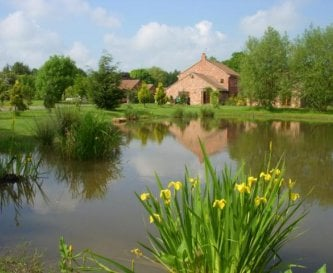 Villa farm is situated in picturesque surroundings