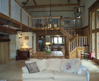An impressive interior