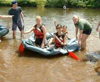 Coracle Building as part of a team event