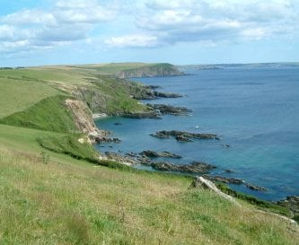 View from the south coastal footpath