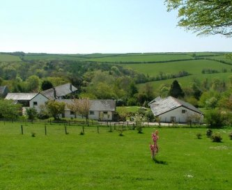 looking down on fox valley cottages