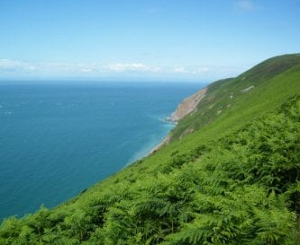 Exmoor meets the sea