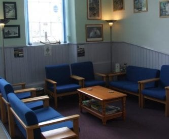 Communal seating area