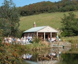 The loch side pavilion is good for parties