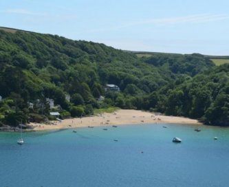 Mill Bay, one of many beautiful beaches nearby.
