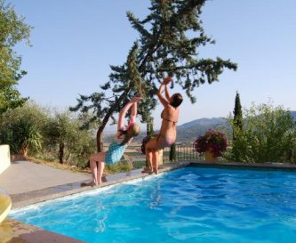 The famous Cancello Rosso double back dive