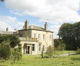 Middleham House from the side