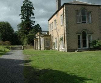 Middleham House from the front