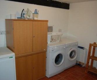 Utility room (drying room off it).