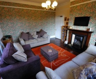 Living Room - for self catering guests only