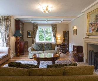 The drawing room at Widcombe Grange