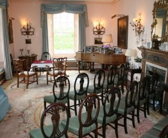 Drawing room at Penmyarth House