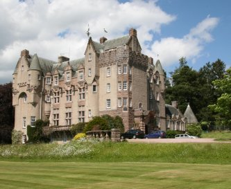 Kincardine Castle - an impressive meeting venue.