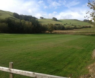 Our full size football/rugby pitch