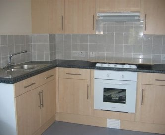 Clean, well equipped facilities in shared kitchen