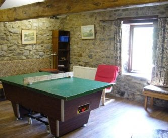 The lounge - games room