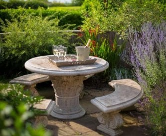 The Hay Barn garden table