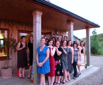 Healthy Hen party at Ard Nahoo