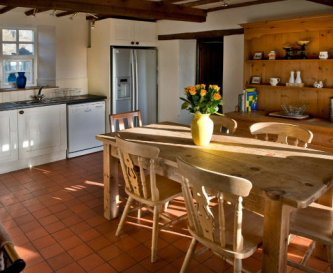 Farmhouse kitchen in Hulmes Vale House