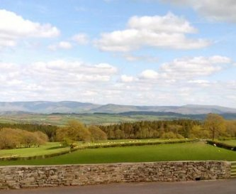 View from Cottages to Blackmountains.