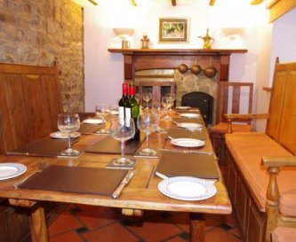 Farm House Self Catering Cottage Dining Area