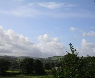 View across Towy Valley