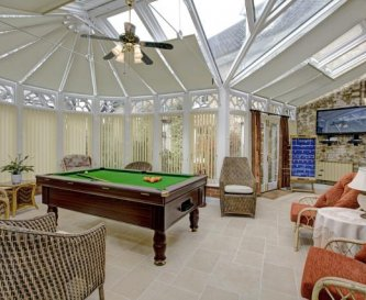The South Games Conservatory & Pool table