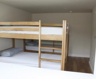 Four bed bunk room