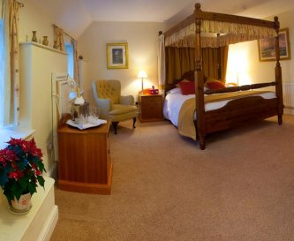 Our Four Poster Room