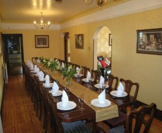 Banqueting table for 26 people