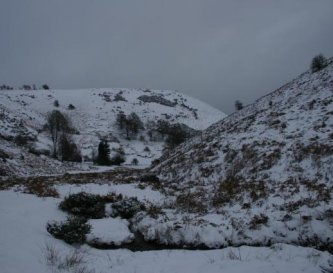 Batch Valley in the snow