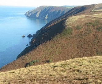 Exmoor in autumn, walk from Wild Pear.