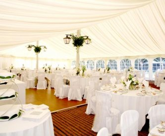 Beautiful marquees organised for you
