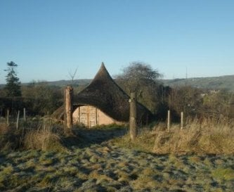 Iron Age Hut in Grounds