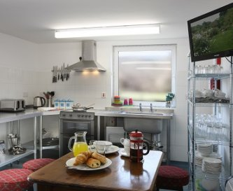 The Hides Kitchen Area