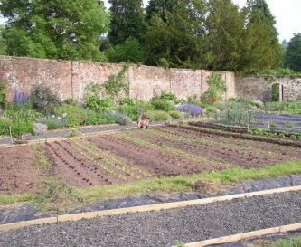 The organic walled garden for all your produce